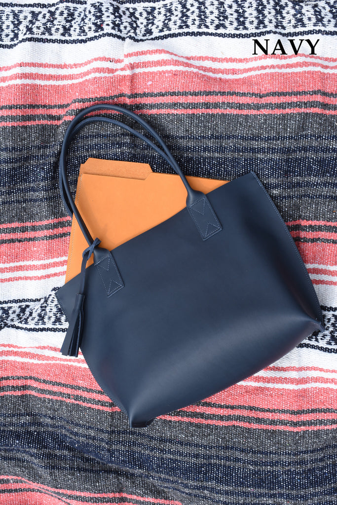Small Everyday Leather Tote