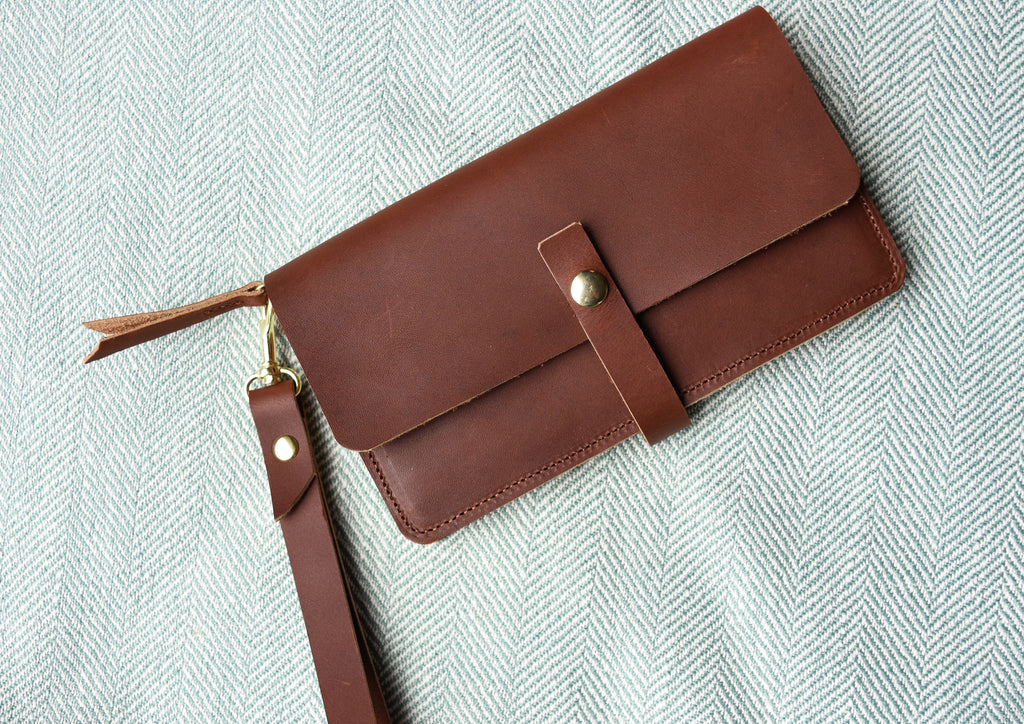 Accordion Style Leather Wallet