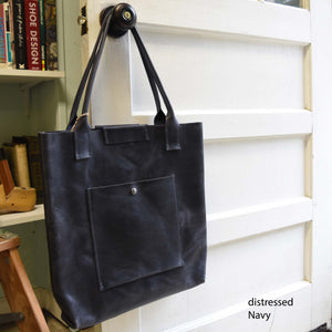 Daydreamer Tote - Handmade Leather Tote Bag