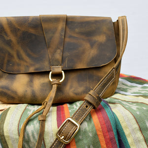 Penny Leather Crossbody Bag