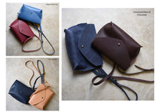 Small Leather Envelope Crossbody Purse