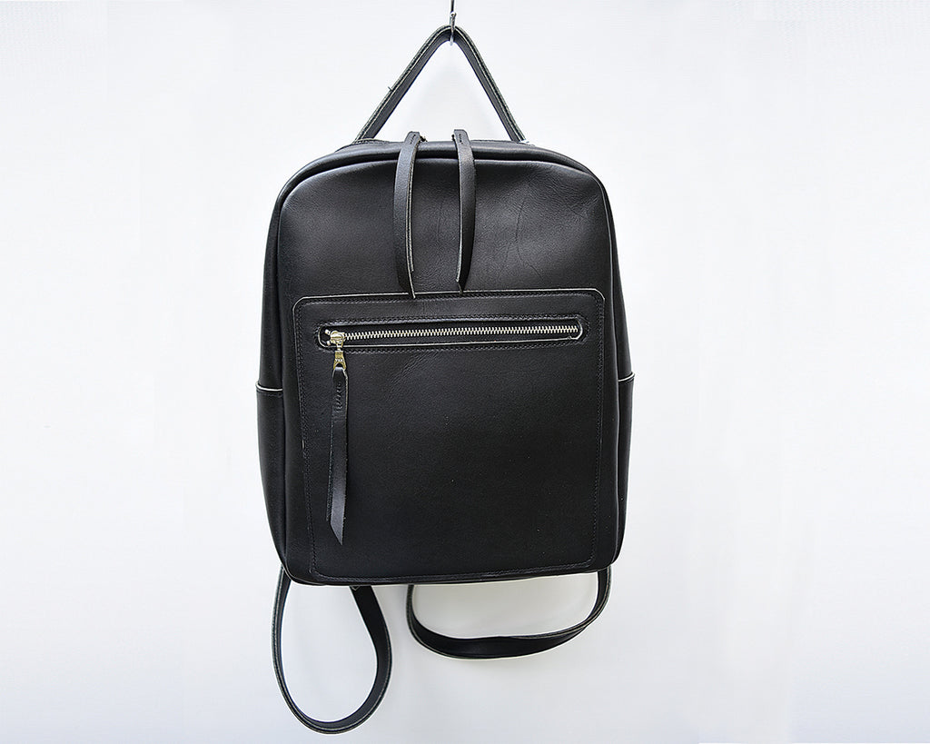 Evie Leather Backpack