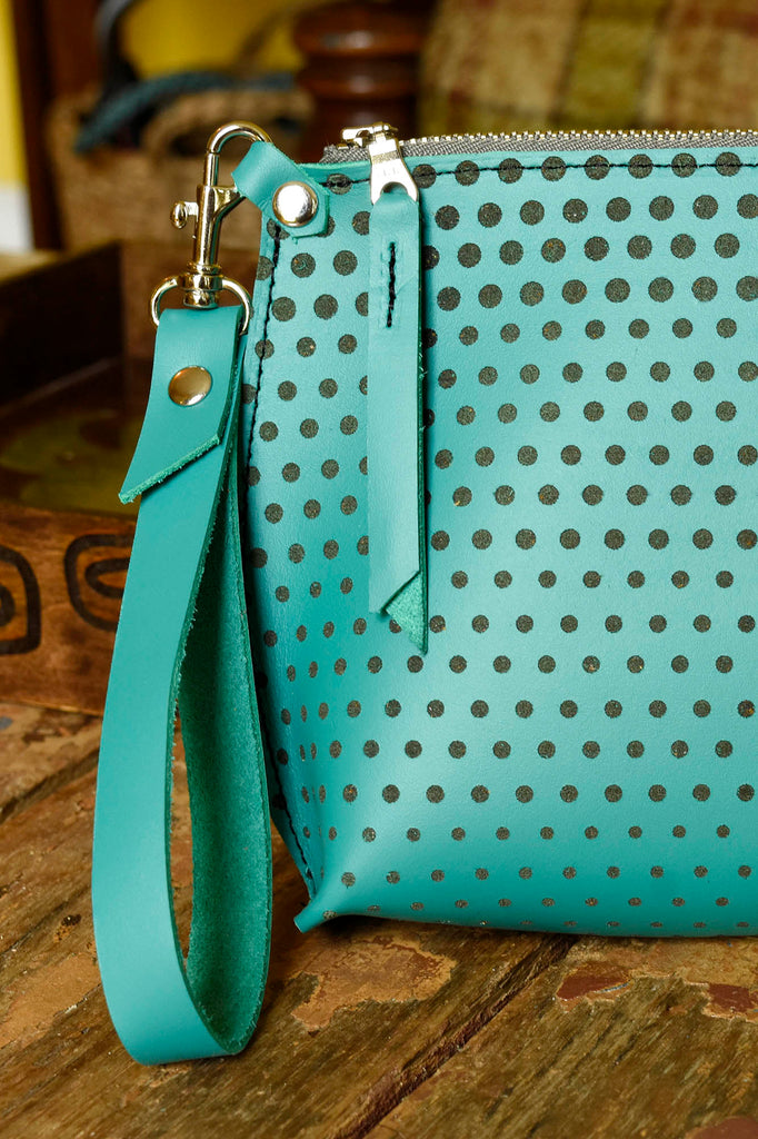 Ombre Polka Dot Everyday Wristlet
