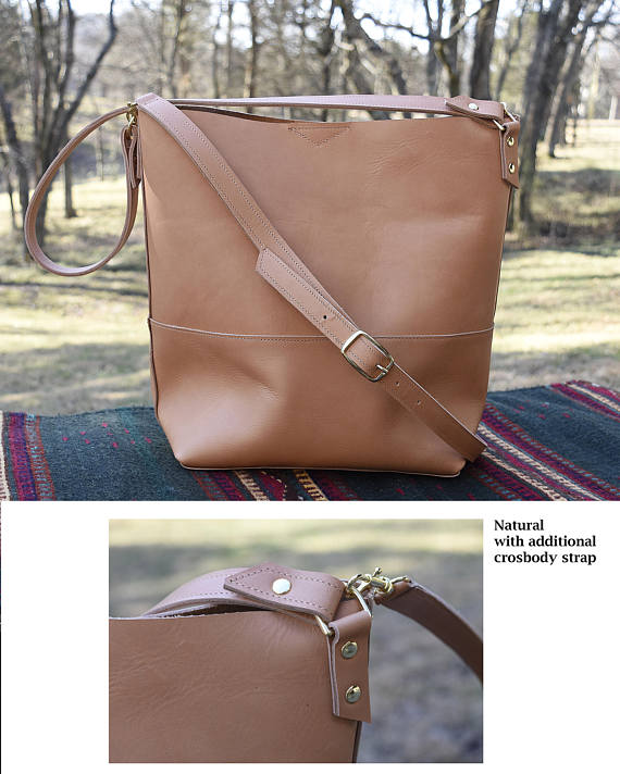 Catalina Leather Hobo Bag