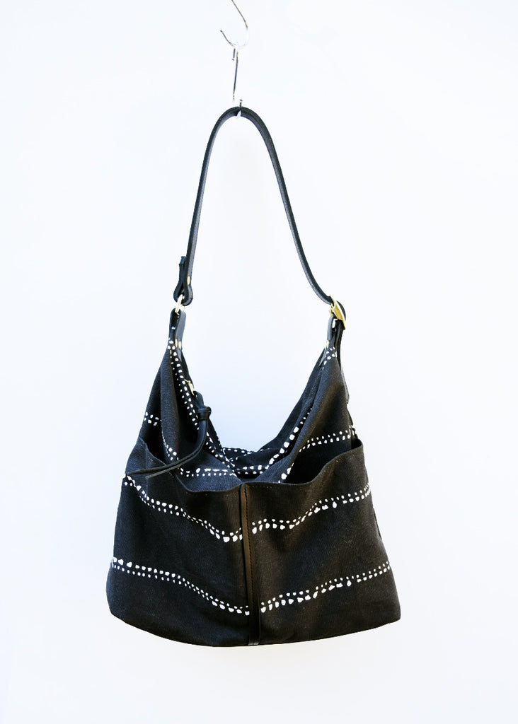 Lizzie Printed Canvas Hobo