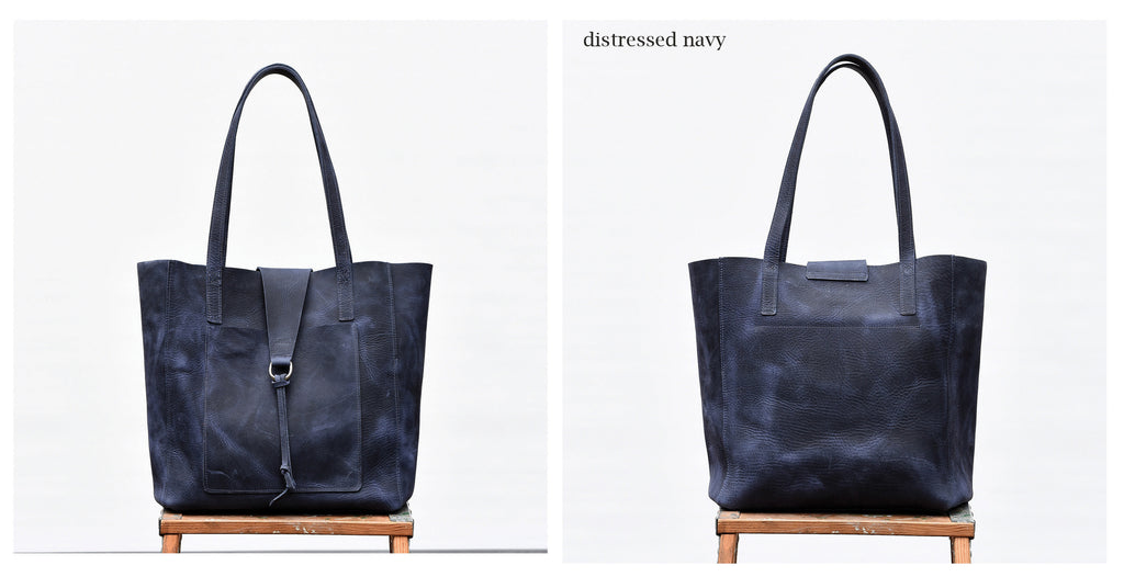 Rita Tote - Leather Tote Bag