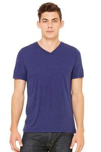 BELLA+CANVAS® TRIBLEND V-NECK TEE.