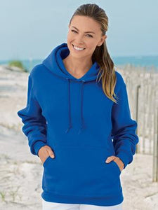 FRUIT OF THE LOOM® SUPERCOTTONTM HOODED SWEATSHIRT.
