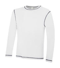 ATC™ EUROSPUN® RING SPUN CONTRAST STITCH LONG SLEEVE TEE
