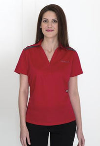 COAL HARBOUR® EVERYDAY COLOUR BLOCK LADIES' SPORT SHIRT.