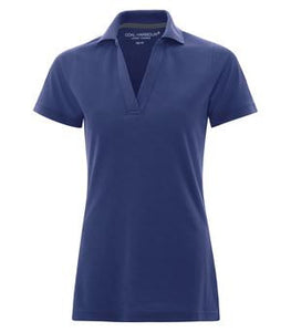 COAL HARBOUR® COMFORT PIQUE SOIL RELEASE LADIES' SPORT SHIRT.