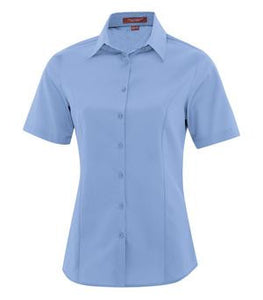 COAL HARBOUR® EVERYDAY SHORT SLEEVE LADIES' WOVEN SHIRT