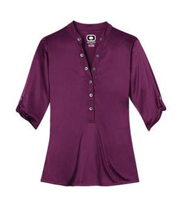 OGIO® CRUSH LADIES' HENLEY