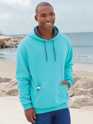 FRUIT OF THE LOOM® SOFSPUN® HOODED SWEATSHIRT.