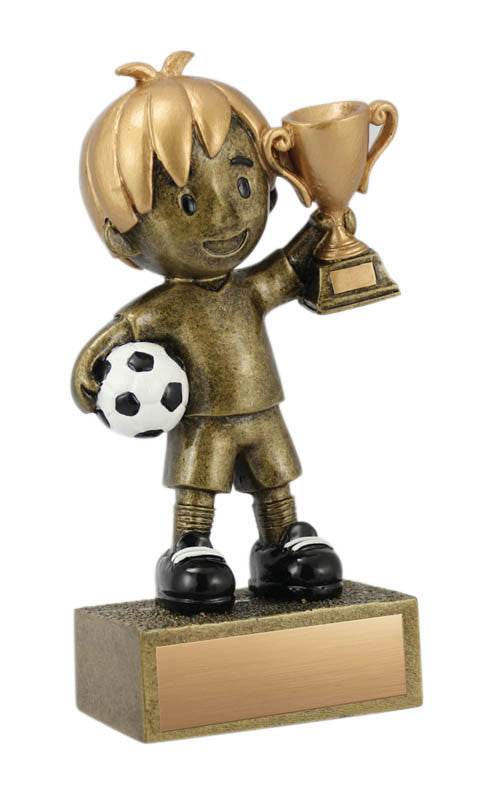 Kid's Soccer Resin, Boy 5