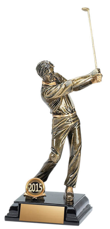 Golf Resin, Stature, M. 7 3/4