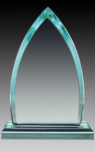"Acrylic Jade Peak 7.75"", Top & Base"