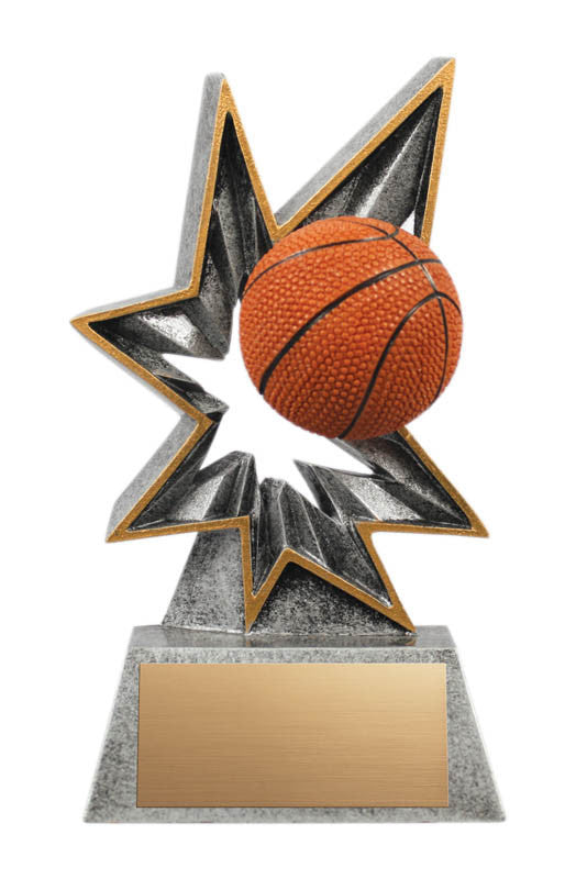 Basketball Star Bobble Resin