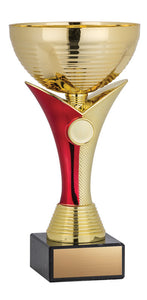 Venus Cup, Gold/Red 8""