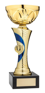 Gold/Blue Euro Series Cup, 8.5""