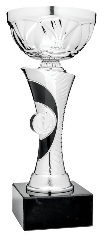 Silver/Black Euro Series Cup, 8.5