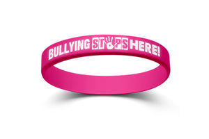 """Bullying Stops Here!"" Bracelets"