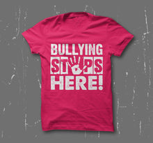 """Bullying Stops Here!"" Youth T-Shirt"