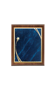 "Classic Series Walnut Plaques, Shooting Star 9""x12"""