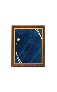 Classic Series Walnut Plaques, Shooting Star 9