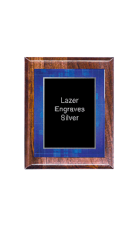 Classic Series Walnut Plaques With Acrylic Plate,  7
