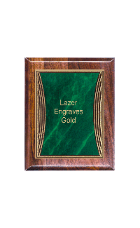 Classic Series Walnut Plaques, Tribute 7