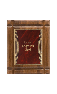 Classic Series Walnut Plaques, Tribute 9
