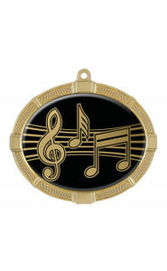 Impact Series Medals, Music