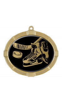 Impact Series Hockey Medal, Oval