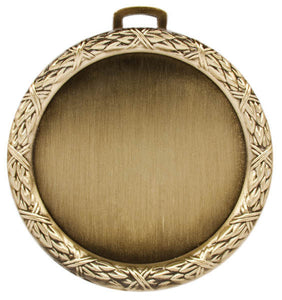 "2"" Holder (Wreath), Gold"