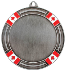 "2"" Holder (Flags), Silver"