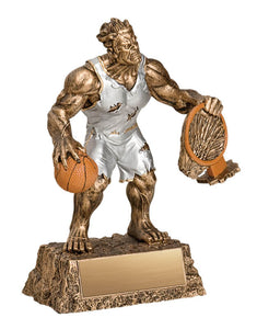 Basketball Monster Resin