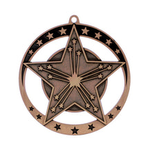 "Medal Star Victory 2.75"" Dia. Bronze"