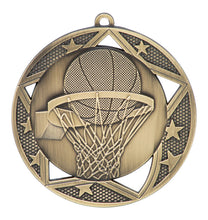 "Medal Galaxy 2.75"" Basketball Gold"