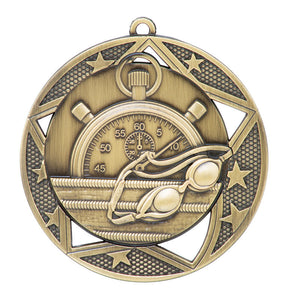 "Medal Galaxy 2.75"" Swimming Gold"