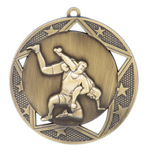"Medal Galaxy 2.75"" Wrestling Gold"