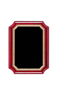 Airflyte Series Plaques, Notched Rosewood 9