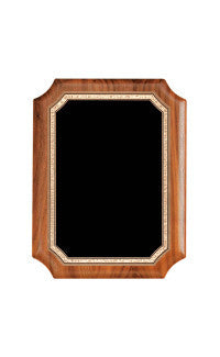 Airflyte Series Plaques, Notched Walnut 8