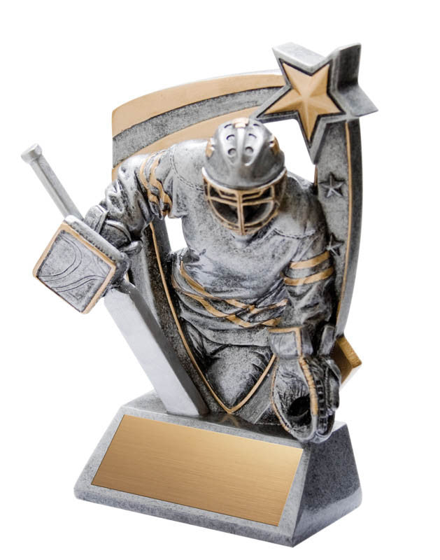 3-D Resin, Goalie