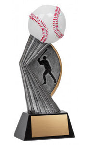 Resin Silhouette Baseball 7.5""