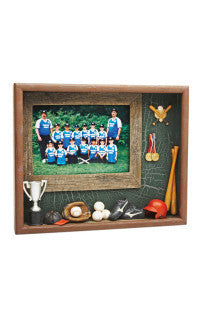 Baseball Resin Shadowbox