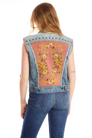 Wallace Denim Vest