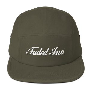 Faded Inc. Five Panel Cap