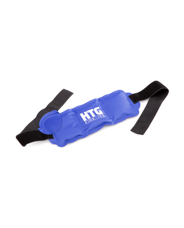 HTG Fire + Ice Hot and Cold Therapy Gel Pack with Straps