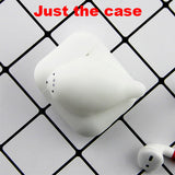 Ốp silicone Thỏ trắng cho Airpod